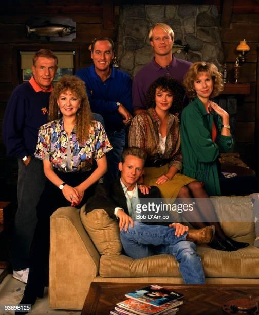 COACH gallery Season Three 9/25/90 Jerry Van Dyke Craig T Nelson Bill Fagerbakke Shelley Fabares Clare Carey Pam Stone Kris Kamm