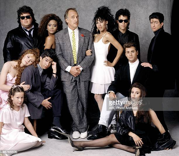 CLASS gallery Season Two 10/14/87 Pictured top row left Daniel J Schneider Robin Givens Howard Hesseman Kimberly Russell Brian Robbins Dan Frischman...