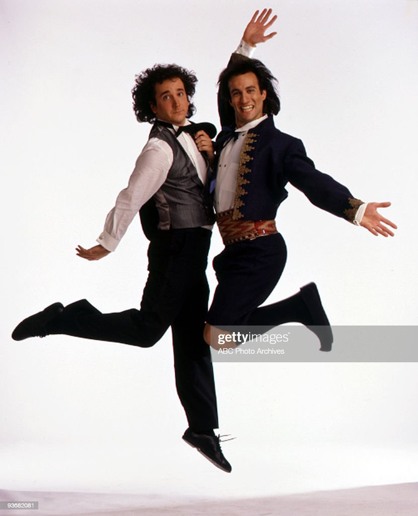 STRANGERS - gallery - Season Two - 1/20/87, Mark Linn-Baker (Larry), Bronson Pinchot (Balki),