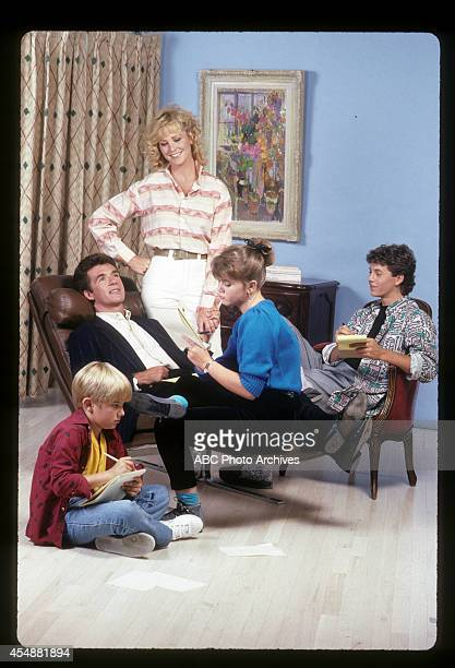 Gallery - Shoot Date: August 28, 1986. JEREMY MILLER;ALAN THICKE;JOANNA KERNS;TRACEY GOLD;KIRK CAMERON