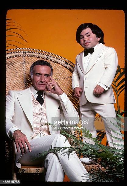 Gallery - Shoot Date: December 16, 1977. L-R: RICARDO MONTALBAN;HERVE VILLECHAIZE