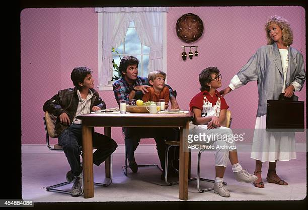 Gallery - Shoot Date: July 22, 1985. KIRK CAMERON;ALAN THICKE;JEREMY MILLER;TRACEY GOLD;JOANNA KERNS