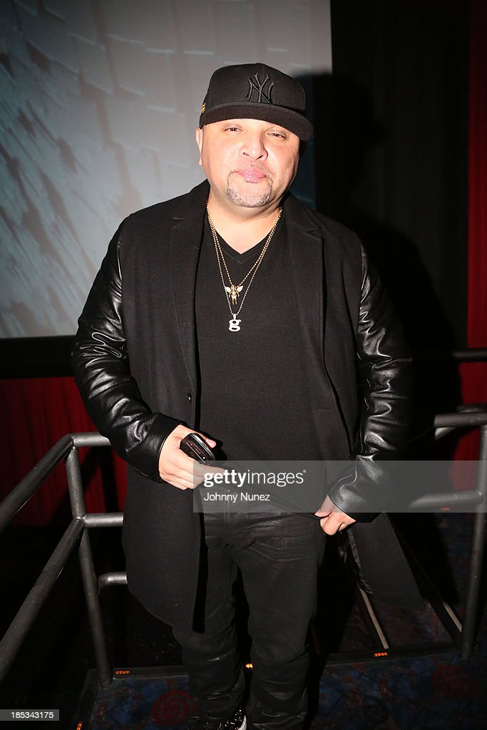 Galley Molina attends the 'I'm In Love With a Church Girl' screening at the Regal E-Walk Stadium 13 on October 18, 2013 in New York City.