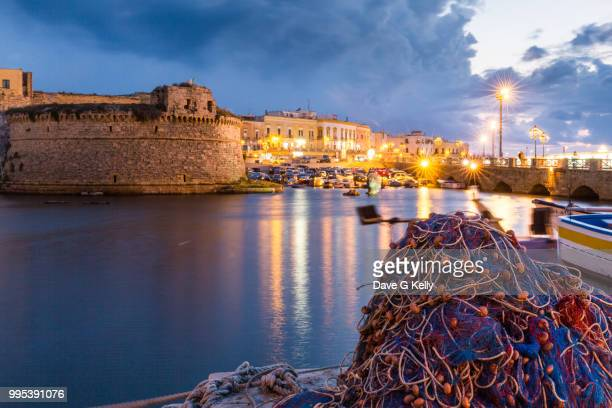 Gallipoli Port and Castle at Twilight