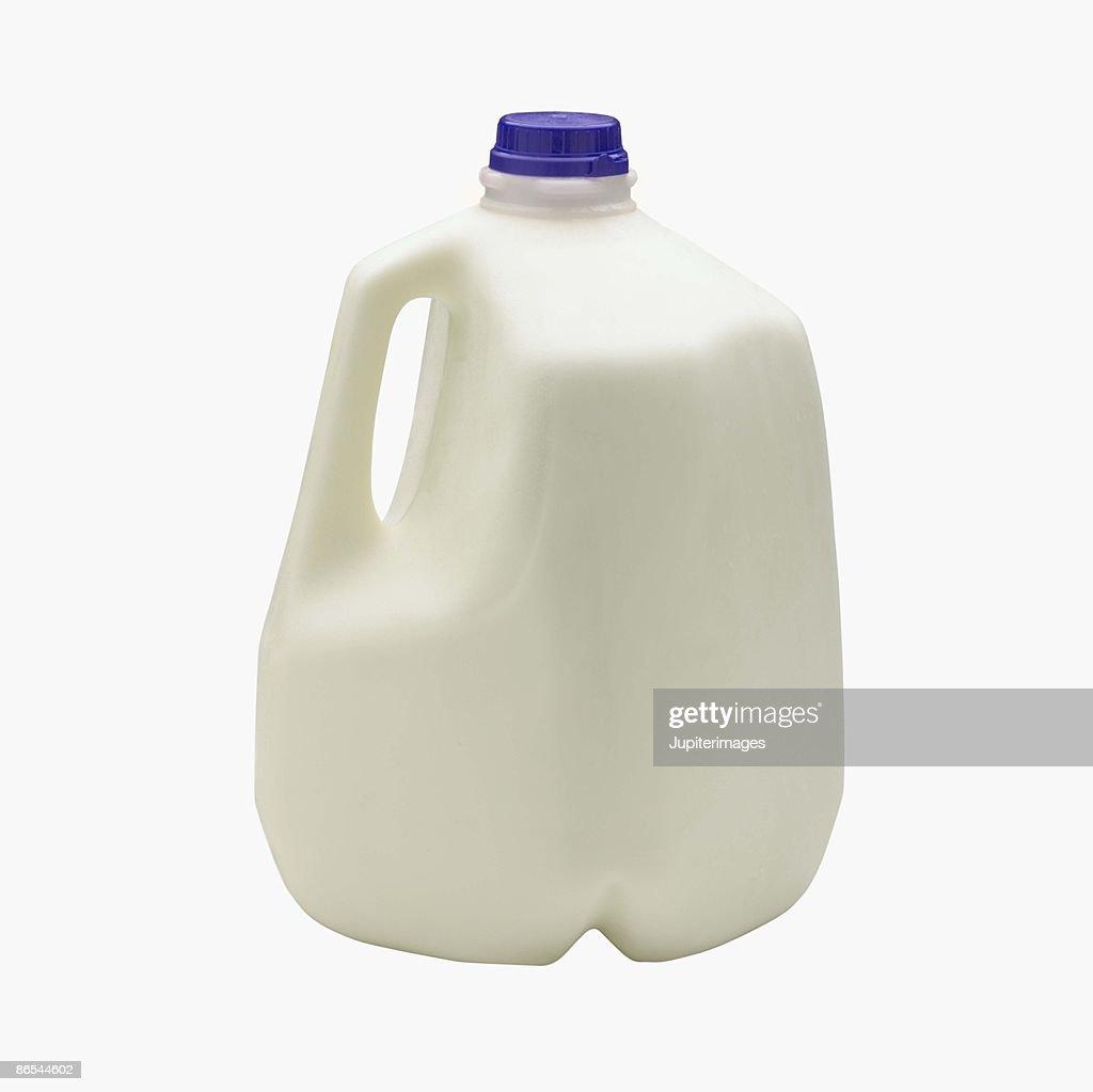 Gallon of Low Fat Milk : Stock Photo