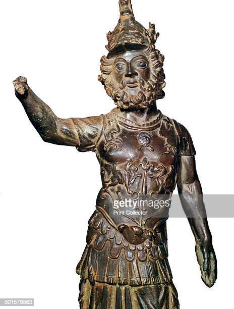 GalloRoman bronze statuette of Mars from the Rhine from the British Museum's collection 2nd century