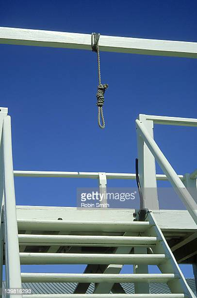 Gallows at the historic Dubbo Goal