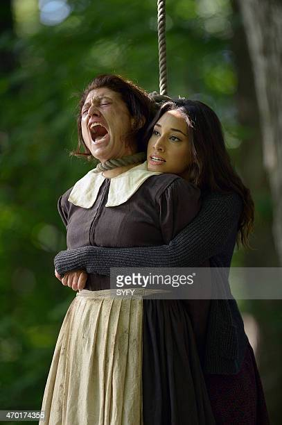 HUMAN Gallows Humor Episode 407 Pictured Amy Aquino as Donna Gilchrist Meaghan Rath as Sally Malik