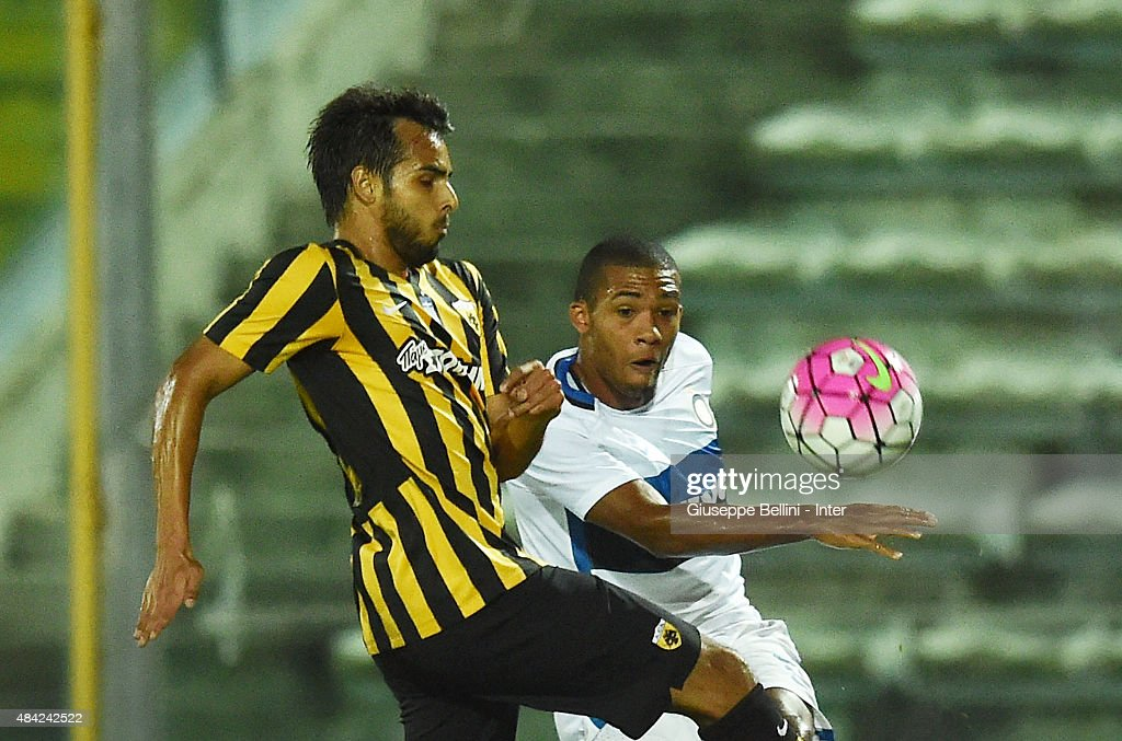 FC Internazionale v AEK Athens - Preseason Friendly : News Photo