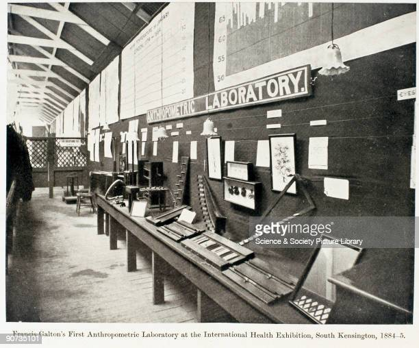 Galton's laboratory at the International Health Exhibition at the South Kensington Museum The South Kensington Museum opened in 1857 and later became...