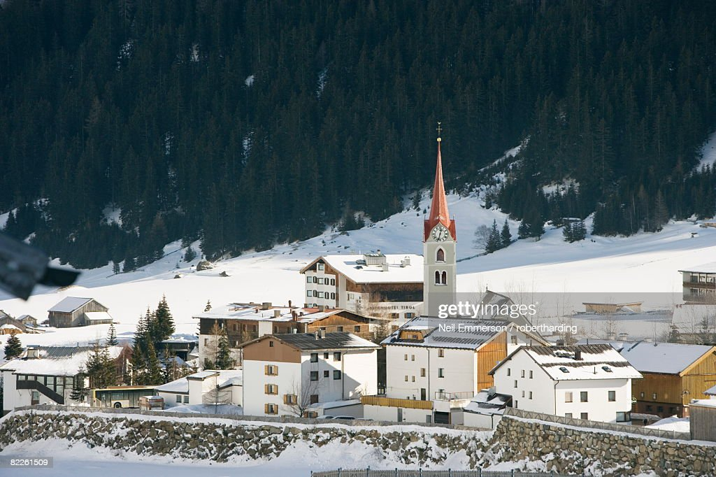 Galtur, Austria, Europe : Stock Photo