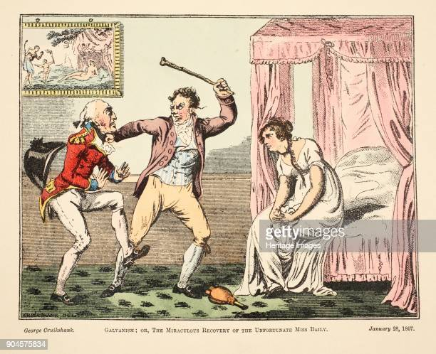Galvanism or the Miraculous Recovery of the Unfortnate Miss Baily pub 1807