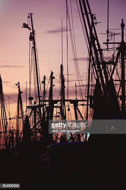 galveston port at sunset - galveston stock pictures, royalty-free photos & images