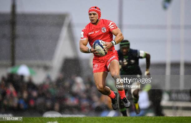 Galway , Ireland - 11 January 2020; Cheslin Kolbe of Toulouse during the Heineken Champions Cup Pool 5 Round 5 match between Connacht and Toulouse at...