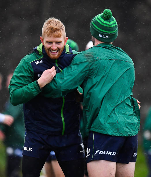 IRL: Connacht Rugby Squad Training and Press Conference