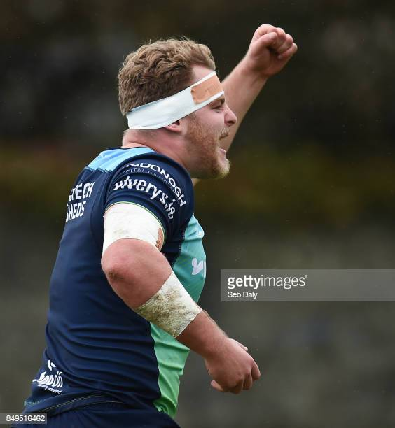 Galway , Ireland - 19 September 2017; Finlay Bealham of Connacht during squad training at the Sportsground in Galway.