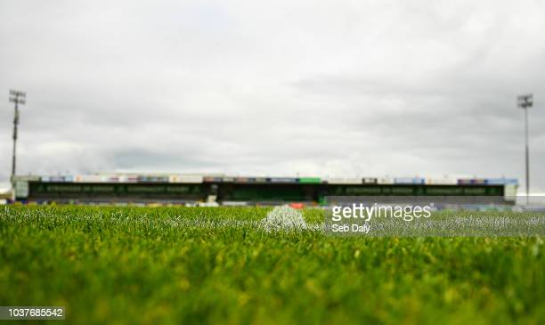 Galway Ireland 22 September 2018 Connacht backs coach Nigel Carolan during the Guinness PRO14 Round 4 match between Connacht and Scarlets at the...
