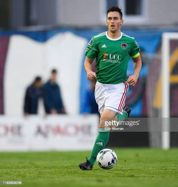 Galway , Ireland - 23 August 2019; Conor McCarthy of Cork City during the Extra.ie FAI Cup Second Round match between Galway United and Cork City at...