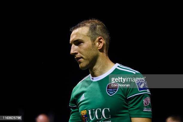 Galway , Ireland - 23 August 2019; Karl Sheppard of Cork City following the Extra.ie FAI Cup Second Round match between Galway United and Cork City...