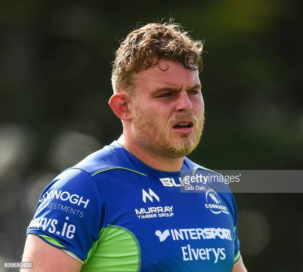 Galway , Ireland - 26 August 2017; Finley Bealham of Connacht during the Pre-season Friendly match between Connacht and Bristol at the Sportsground...