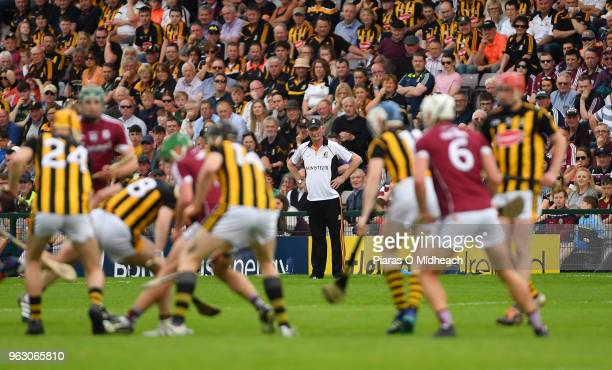 Galway Ireland 27 May 2018 Kilkenny manager Brian Cody looks on during the Leinster GAA Hurling Senior Championship Round 3 match between Galway and...
