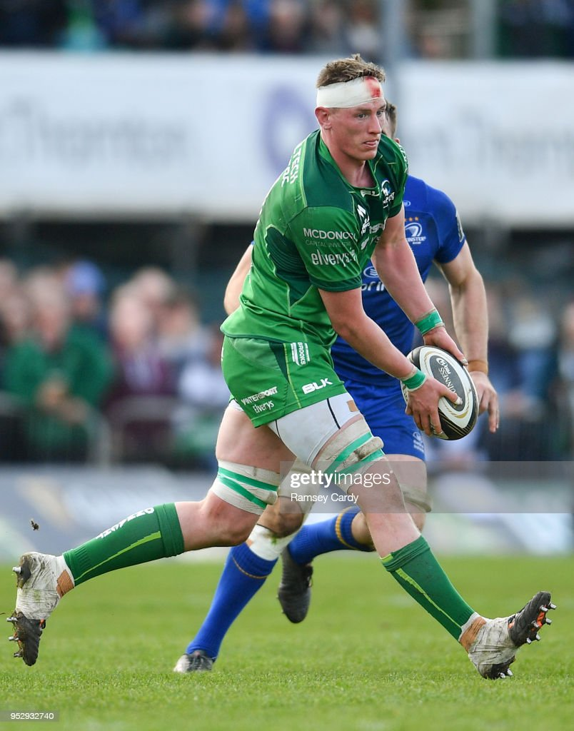 Galway , Ireland - 28 April 2018; Gavin Thornbury of Connacht during the Guinness PRO14 Round 21 match between Connacht and Leinster at the Sportsground in Galway.
