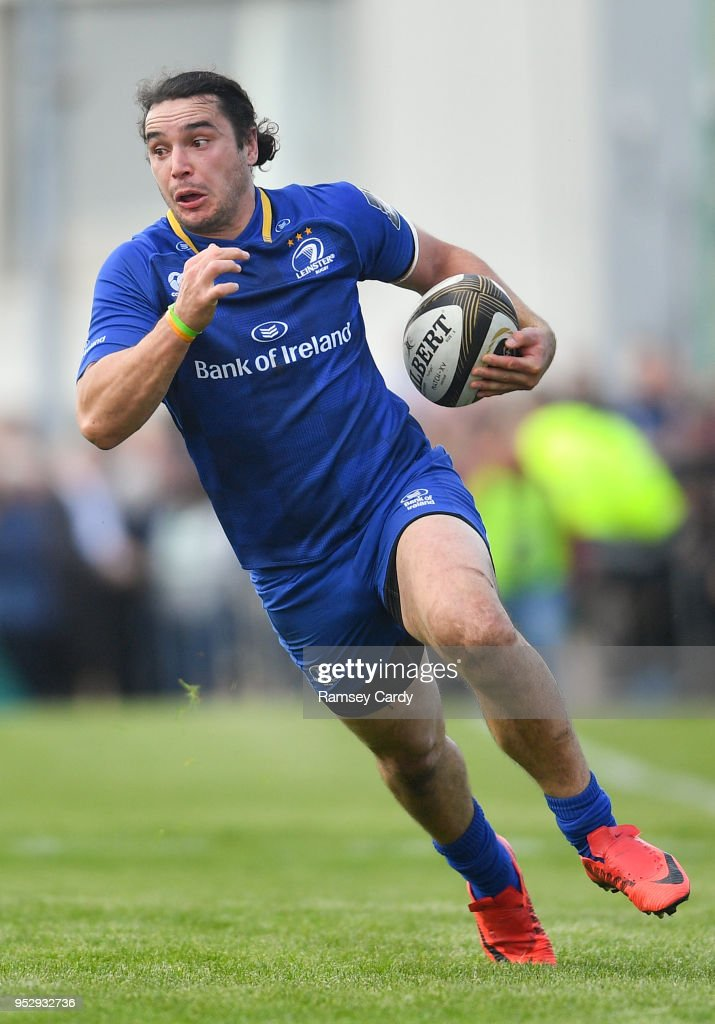 Galway , Ireland - 28 April 2018; James Lowe of Leinster during the Guinness PRO14 Round 21 match between Connacht and Leinster at the Sportsground in Galway.