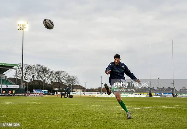Galway Ireland 3 December 2016 Ian McKinley of Treviso ahead of the Guinness PRO12 Round 10 match between Connacht and Benetton Treviso at The...