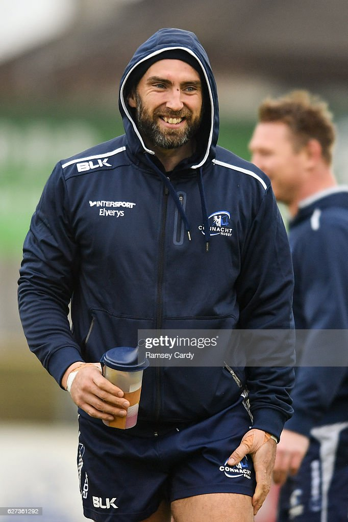Galway , Ireland - 3 December 2016; John Muldoon of Connacht ahead of the Guinness PRO12 Round 10 match between Connacht and Benetton Treviso at The Sportsground in Galway.