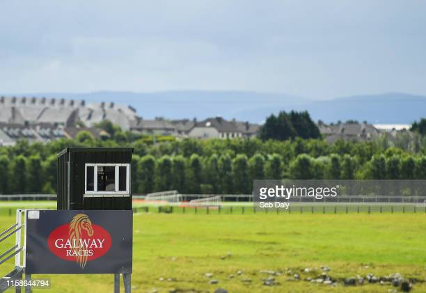 Galway Ireland 30 July 2019 A view of the racecourse prior to racing on Day Two of the Galway Races Summer Festival 2019 in Ballybrit Galway
