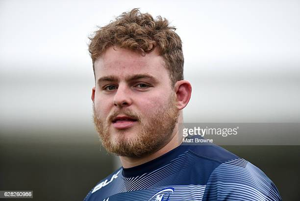 Galway , Ireland - 7 December 2016; Finlay Bealham of Connacht during squad training at the Sportsground in Galway.