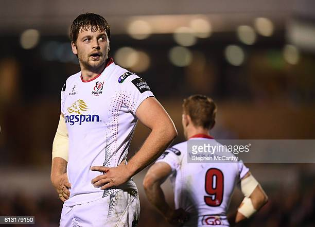 Galway Ireland 7 October 2016 Iain Henderson of Ulster during the Guinness PRO12 Round 6 match between Connacht and Ulster at the Sportsground in...