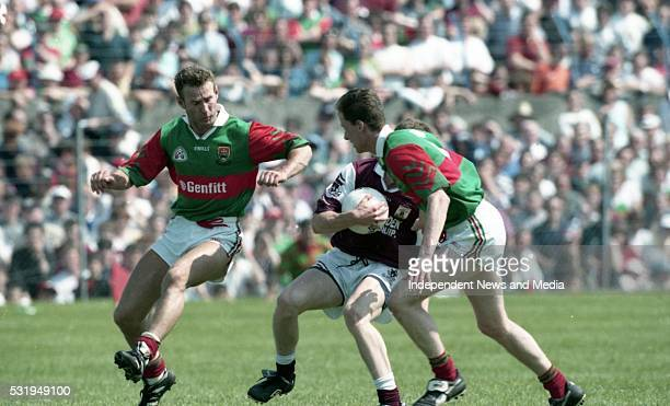 Galway v Mayo in the Connacht GAA Final in Croke Park