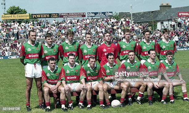 Galway v Mayo in the Connacht GAA Final in Croke Park, . ..