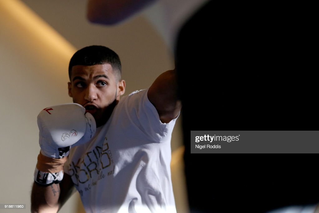 Kell Brook Media Workout : News Photo