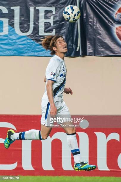 Gamba Osaka defender Fujiharu Hiroki in action during the 2015 AFC Champions League Group Stage F match between Guangzhou RF and Gamba Osaka on April...