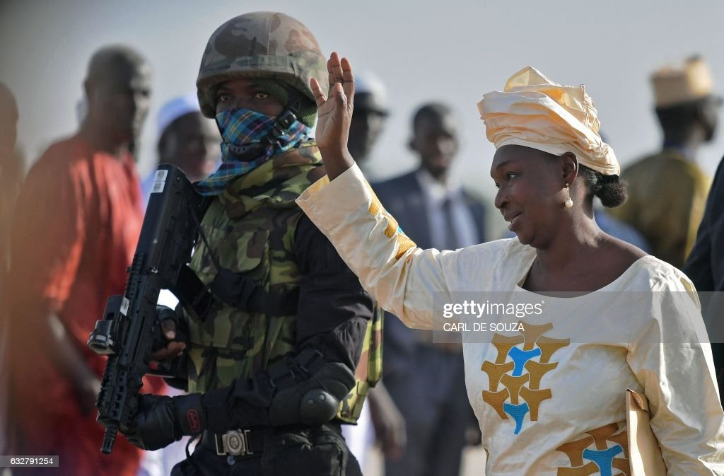 GAMBIA-POLITICS : News Photo