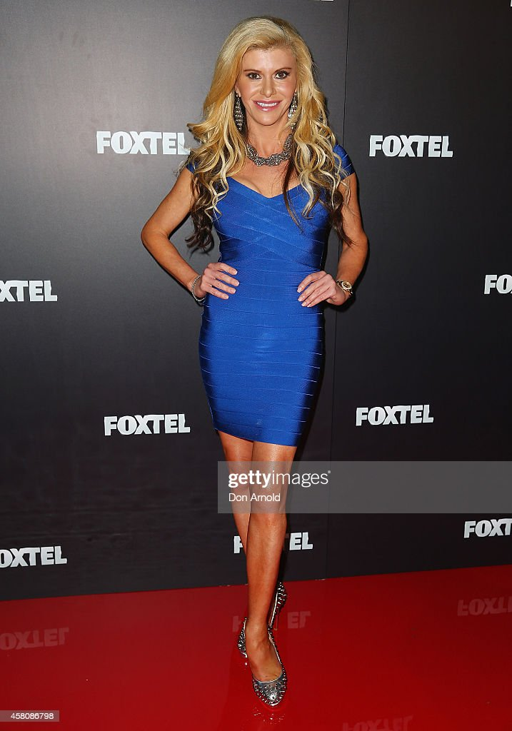 Gamble Breaux attends the Foxtel season launch at Sydney Theatre on October 30, 2014 in Sydney, Australia.