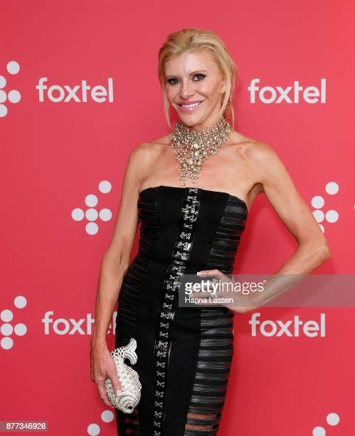 Gamble Breaux during a Real Housewives of Melbourne Season 4 Media Opportunity on November 22 2017 in Sydney Australia