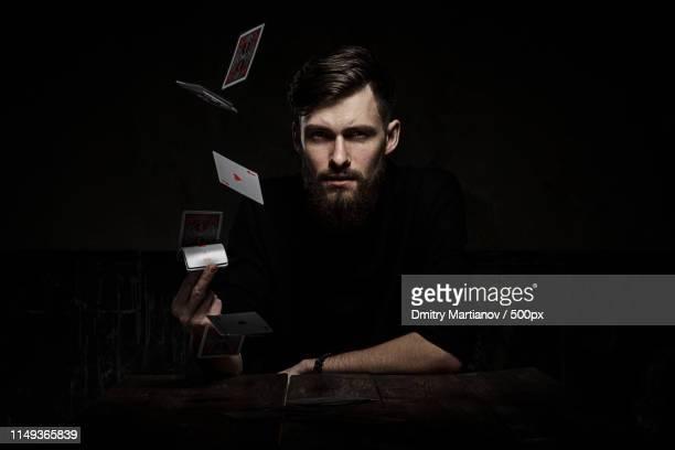 gambler - トランプのエース ストックフォトと画像