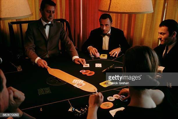 Gamblers at Gambling Table