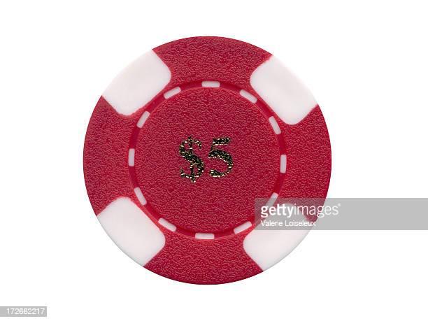Jeton de casino (rouge
