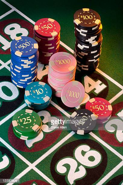gambling - gambling table stock pictures, royalty-free photos & images