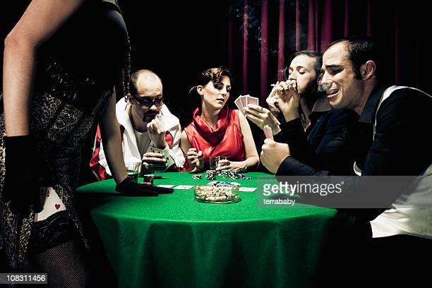 Gambling Poker Players