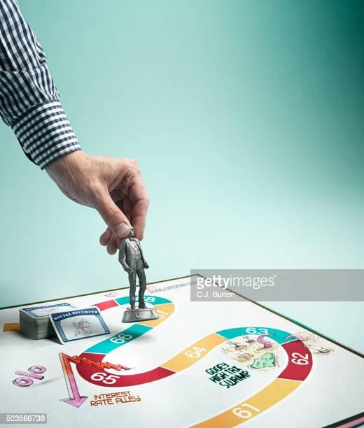 game board social security - ボードゲーム ストックフォトと画像