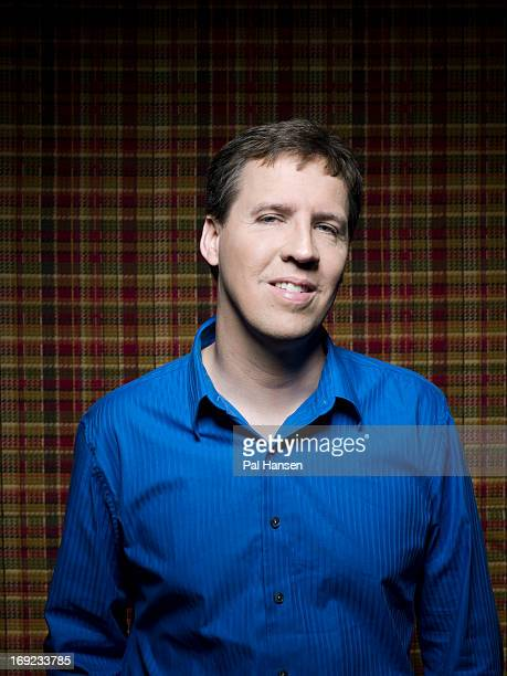 Game designer cartoonist and writer Jeff Kinney is photographed for Stern magazine on May 25 2011 in London England