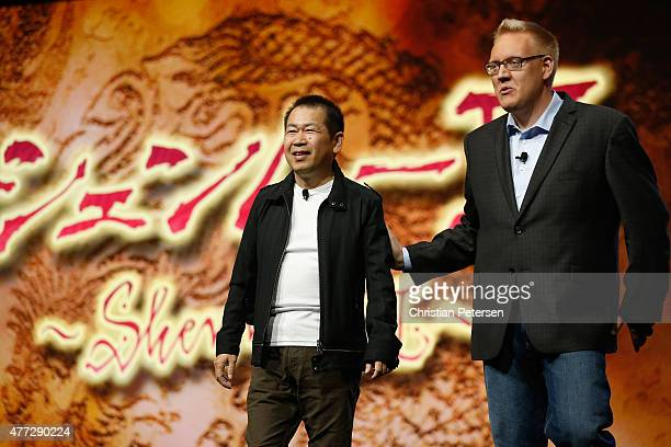 Game designer Yu Suzuki and Sony Computer Entertainment America vice president of publisher and developer relations Adam Boyes discus 'Shenmue 3' For...