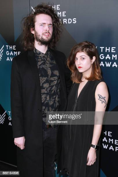 Game designers William Pugh and Alicia Contestabile attends The Game Awards 2017 Arrivals at Microsoft Theater on December 7 2017 in Los Angeles...