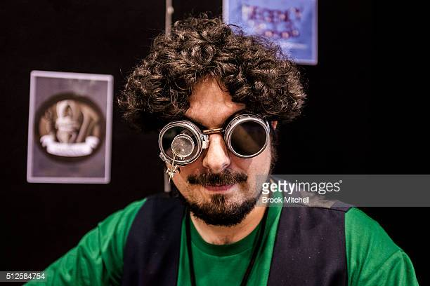 Game developer Ben at the GX Australia convention at Australian Technology Park on February 27 2016 in Sydney Australia The convention is the first...
