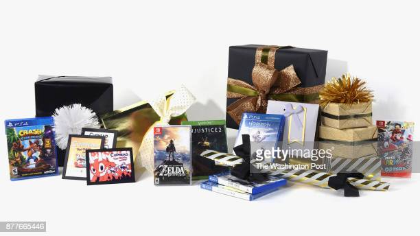 Game items for the Post's annual gift guide on October 2017 in Washington DC